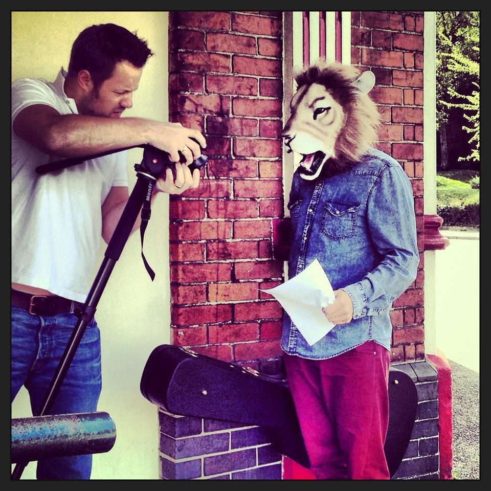 Shooting for Martha's Man Music Video