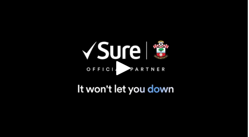 We filmed Sure, the official partner of Southampton FC catching up with goalkeeper, Alex McCarthy to create a social media video about performing under pressure.