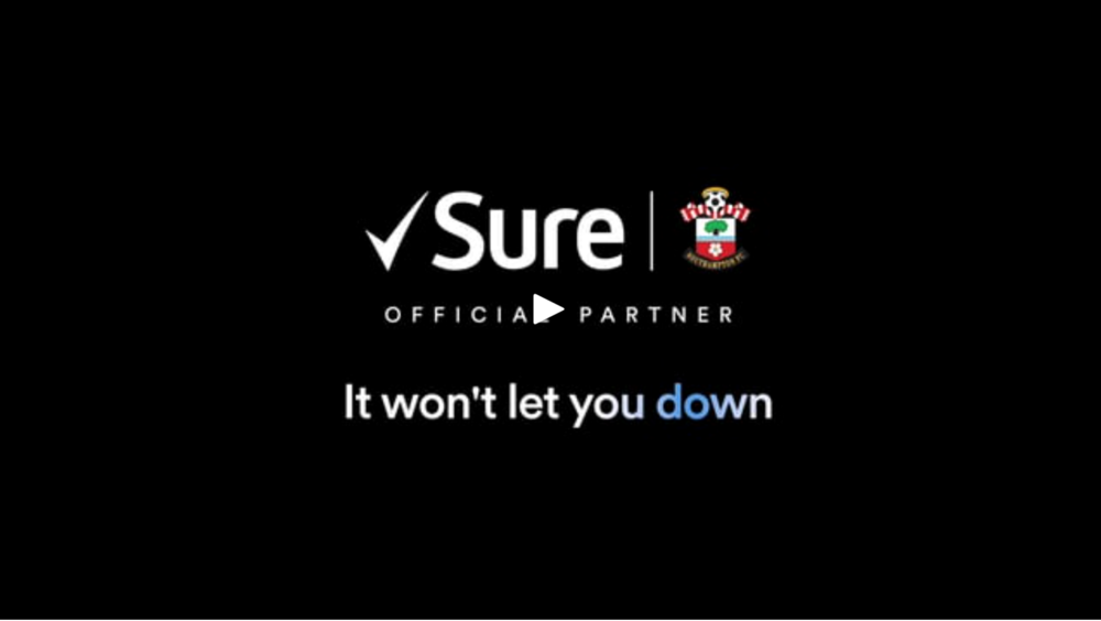 Sure - the official sponsor of Southampton Football Club sat down with goalkeeper Alex McCarthy to talk 'pressure', as part of their sponsorship campaign.