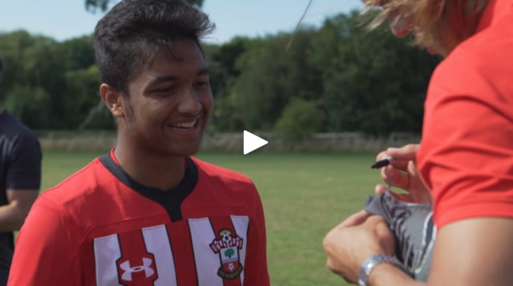 Saints Foundation run a series of soccer schools throughout the school holidays for children of all abilities and asked Bullet to produce some video content to support their marketing campaign.