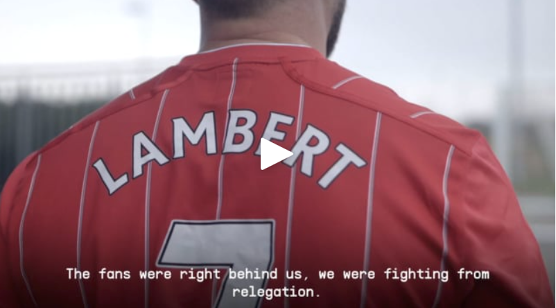 Recreating the Rickie Lambert iconic goal for Southampton as part of the SportPesa Kits for Kicks campaign.