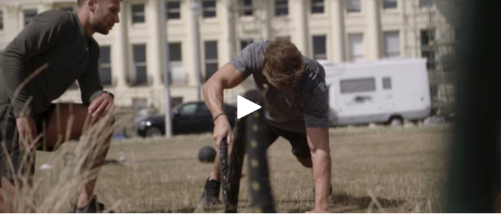 Alex Parsons - Personal Trainer. We filmed a series of launch films to kickstart his new business, with all the content gathered for the campaign in just one shoot.
