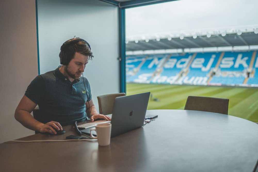 Ben editing 'live' on site!