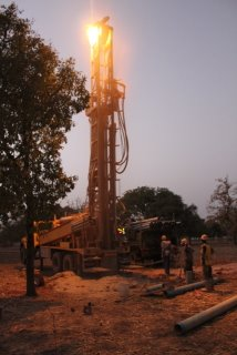Drilling into the night