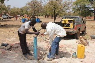 Pumping clean water