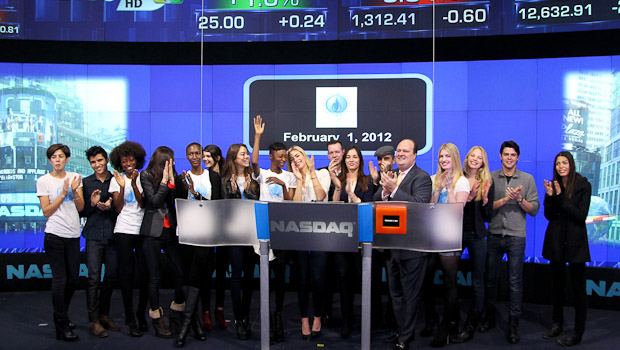 M4W rings the opening bell at the NASDAQ Stock Exchange