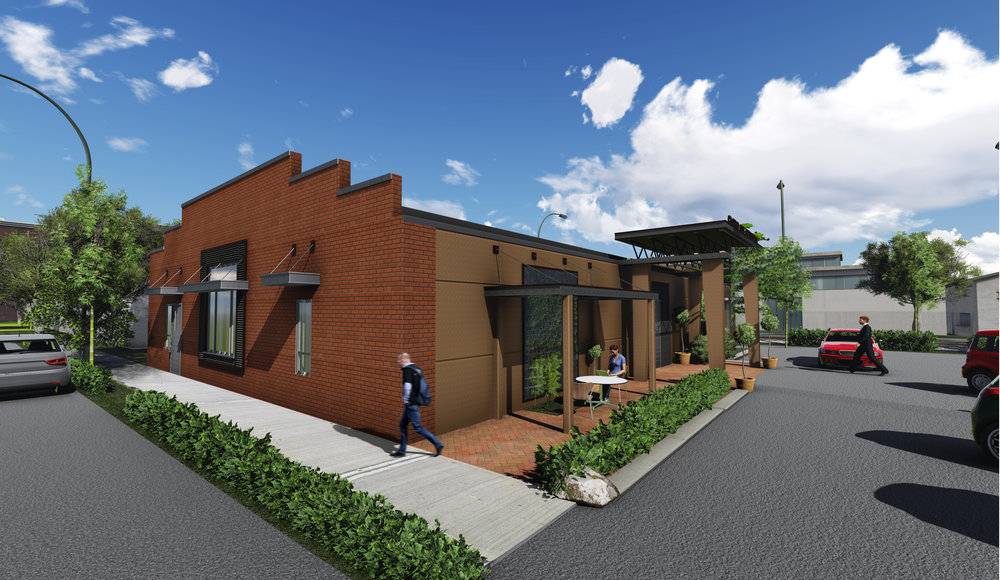 Conceptual Design for Historic Building Renovation
