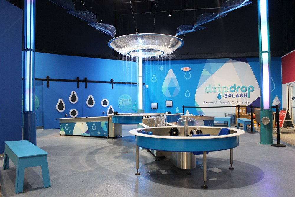 KidsTown Drip Drop Splash Exhibit (One of Seven New Exhibit Spaces)