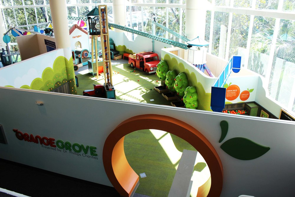 KidsTown Orange Grove Exhibit (One of Seven New Exhibit Spaces)