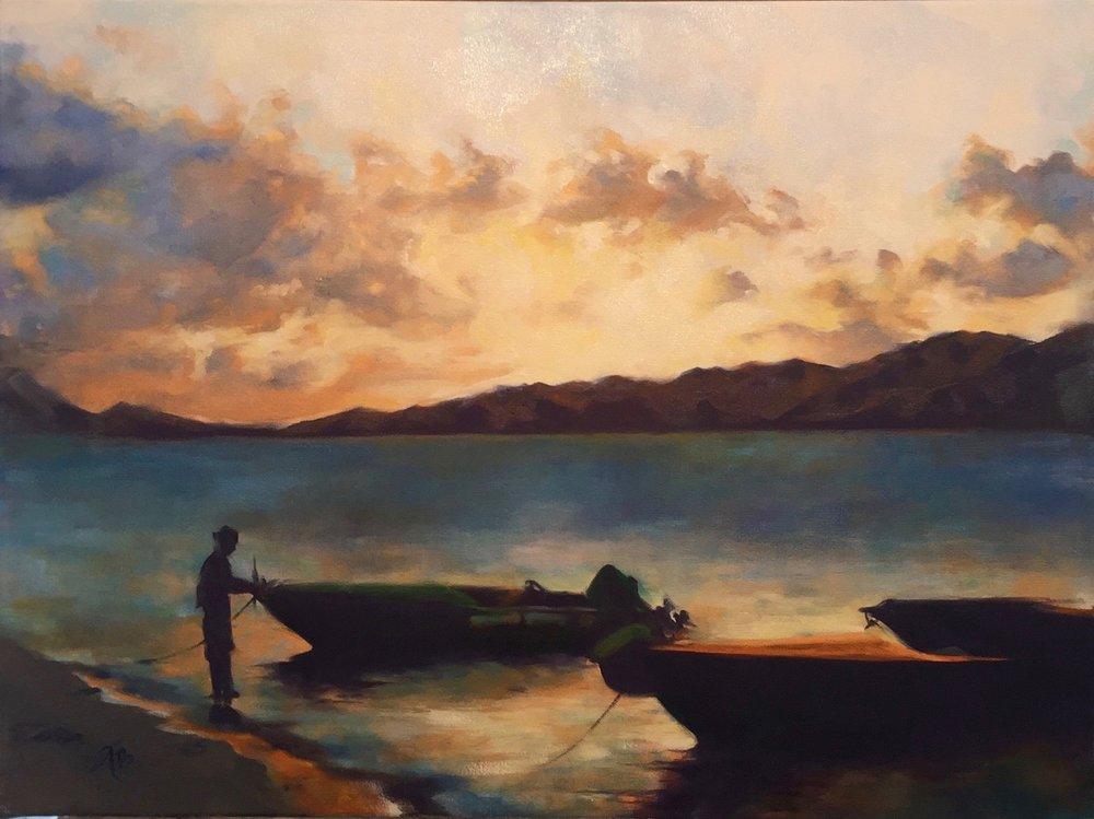 """""""St. Lucian Sunset"""""""