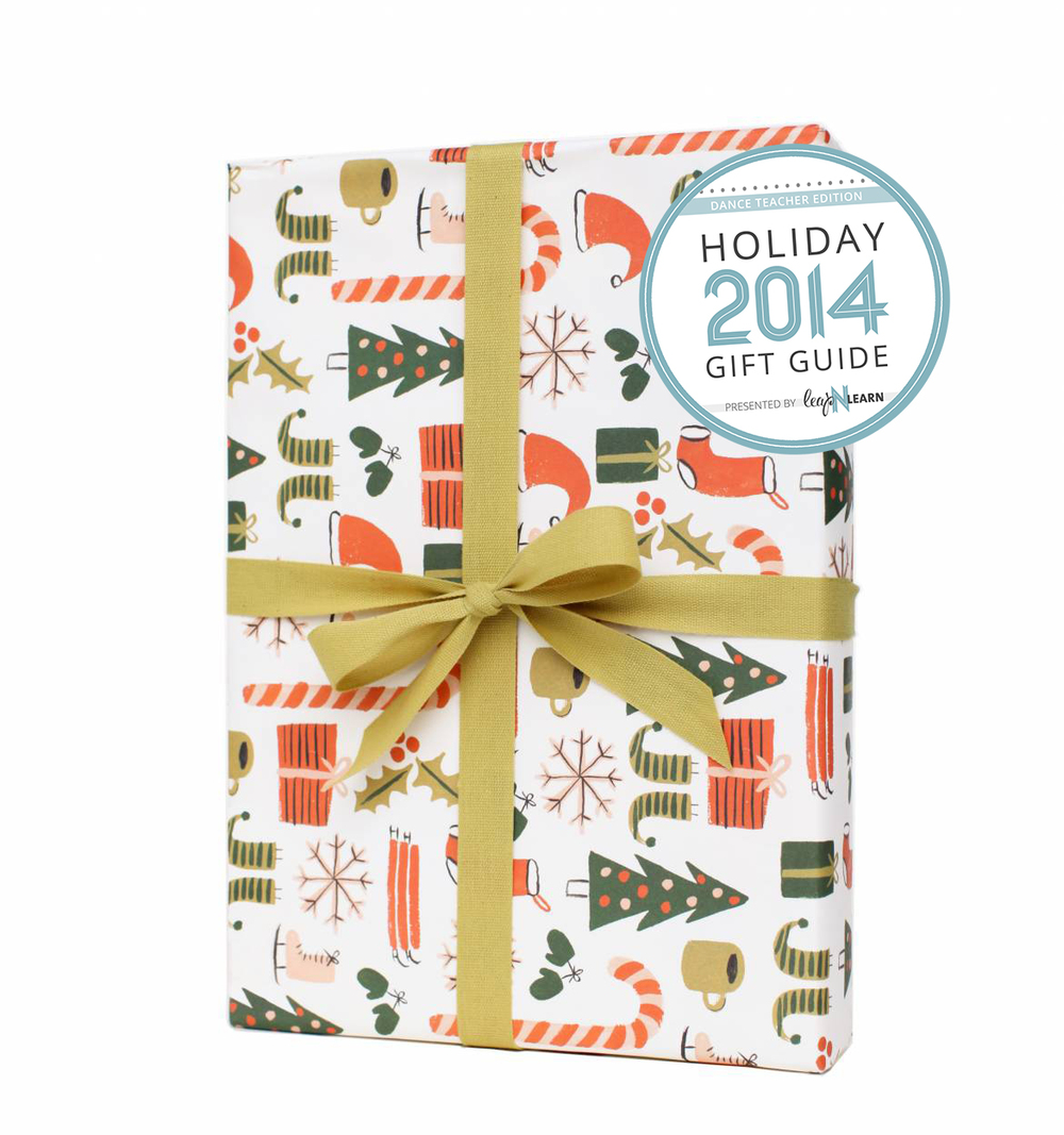 LNL Gift Guide for Dance Teachers — Holiday Wrapping Paper.jpg