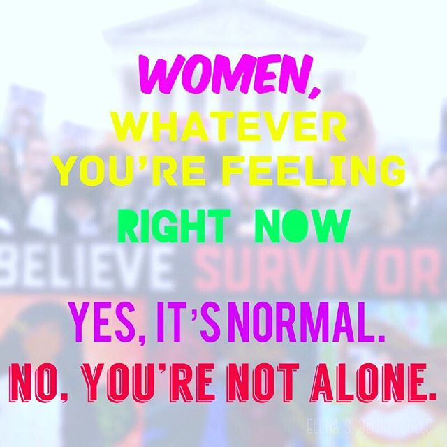 whatever you're feeling, it's normal. there is no wrong way to feel. if you need help, check the resources 📷 posted by @almatherapyaustin #believesurvivors #believewomen #ibelieveher #webelieveyou