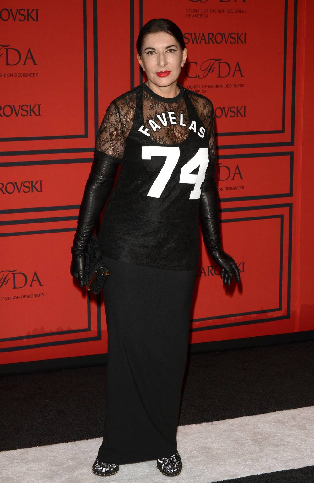 Marina Abramovic at CFDA Awards 2013