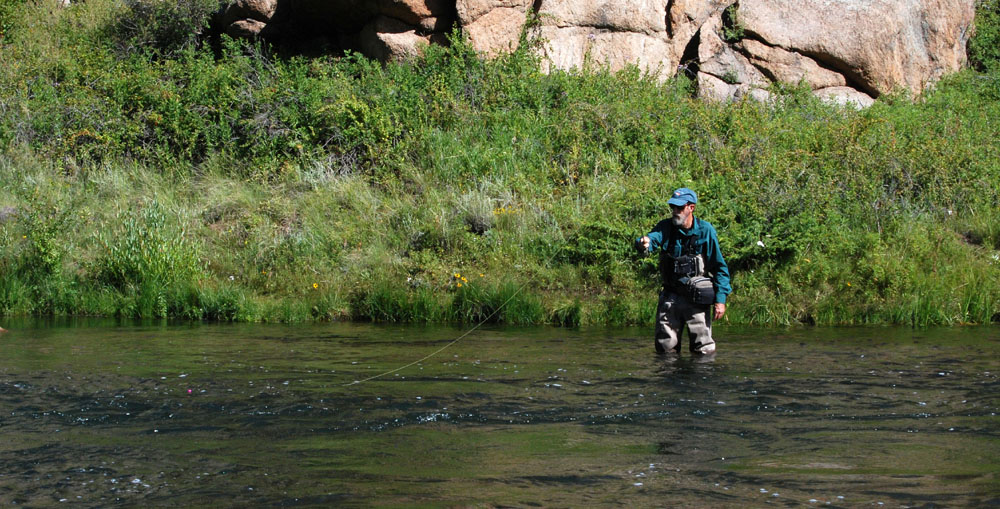 TRY TIGHT LINING WITH A STRIKE INDICATOR