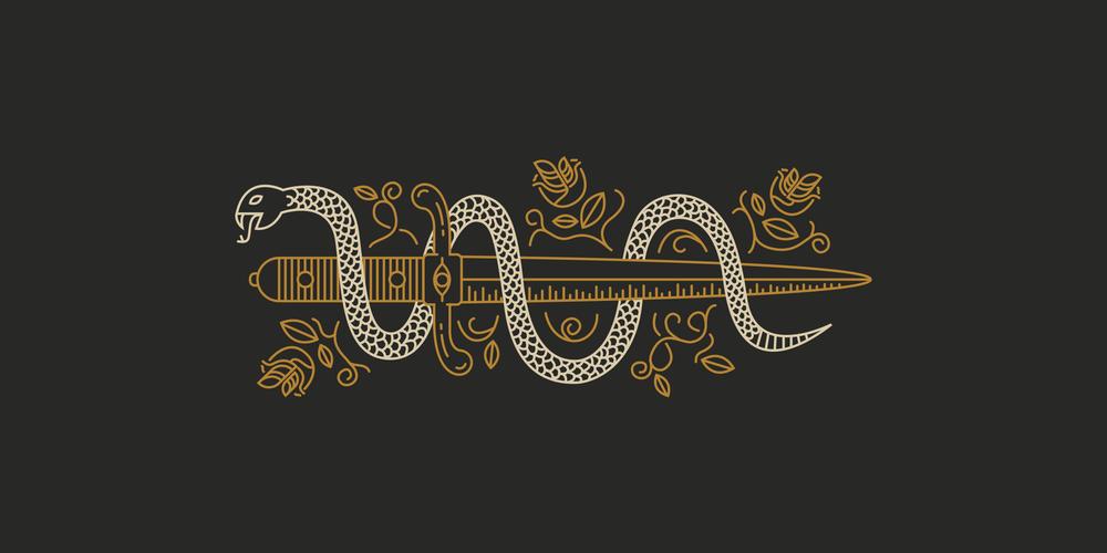 Snake amp Dagger Benjamin Garner