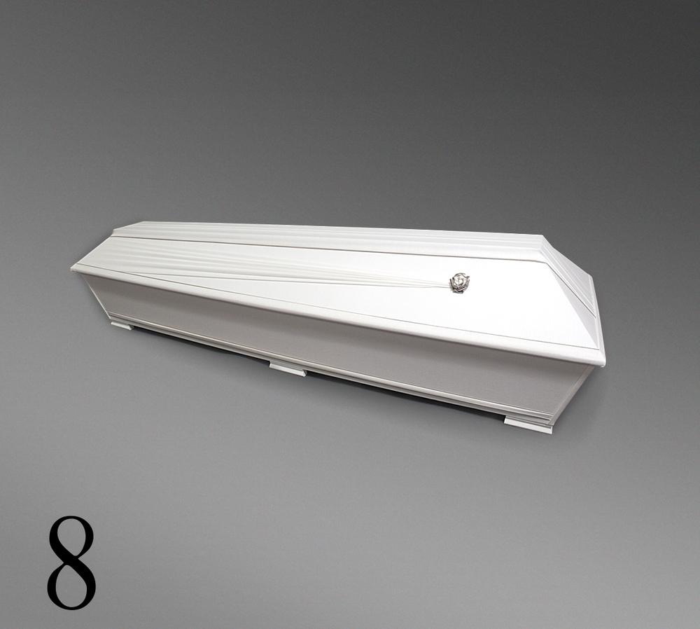 Pellava-arkku nro.8