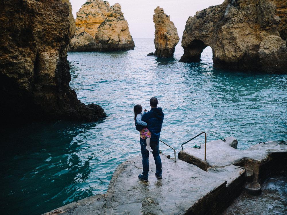 שקיעה בחופי פורטוגל