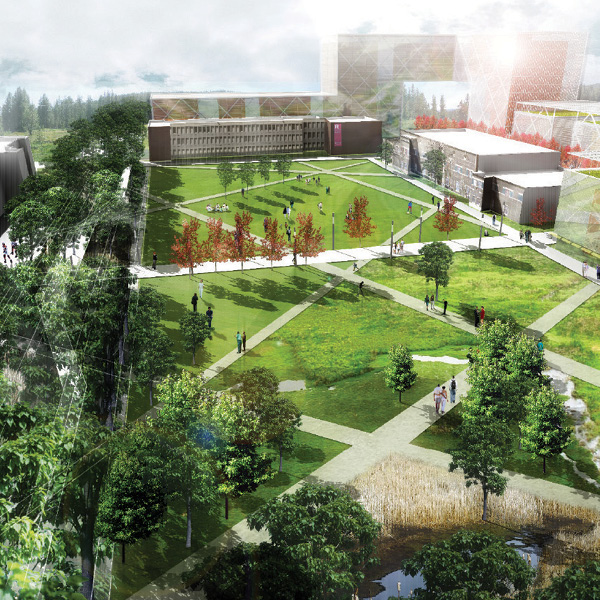 Rutgers University Livingston Campus Open Space Design Guidelines  New Brunswick, NJ