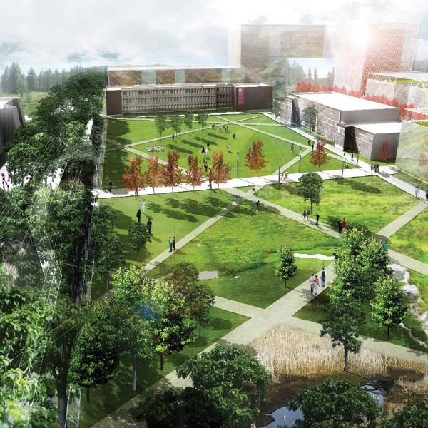 Rutgers University Livingston Campus Open Space Design Guidelines