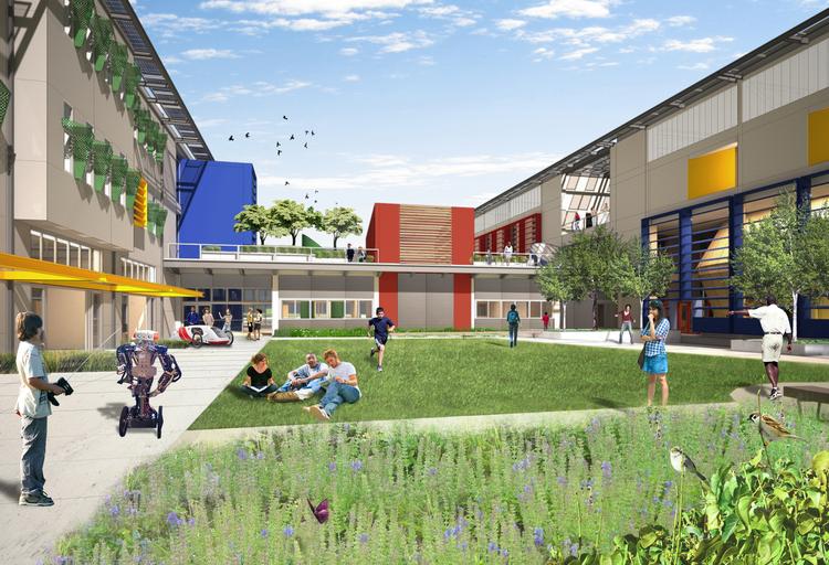 nueva high school — andrea cochran landscape architecture