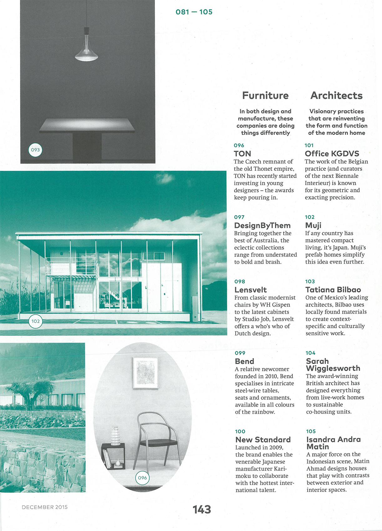 Icon Magazine December 2015 — Andrea Cochran Landscape Architecture