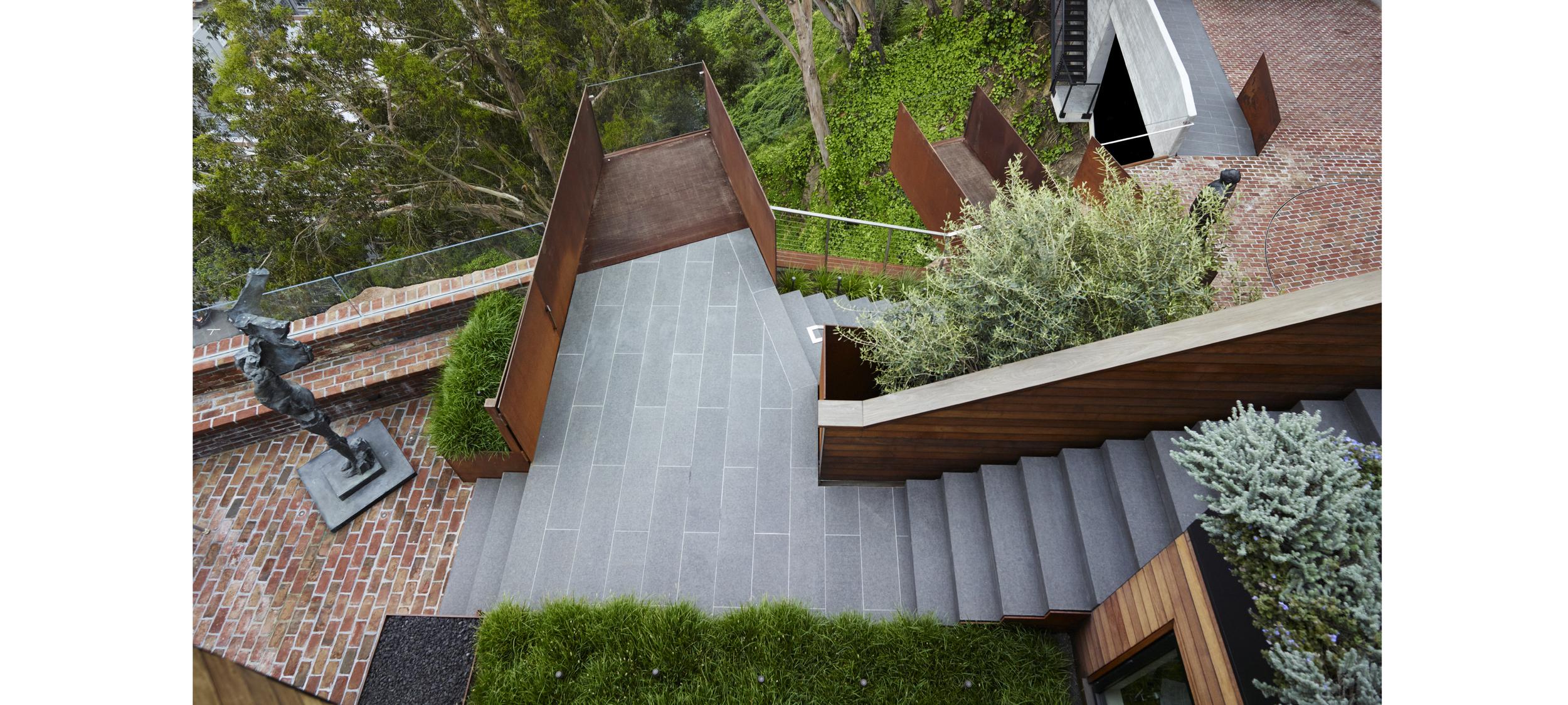 telegraph hill residence u2014 andrea cochran landscape architecture