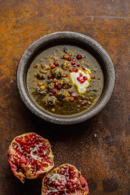 Iranian herb and pomegranate.jpg