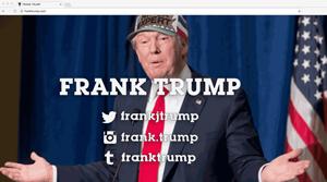 Frank Trump, 2016 franktrump.com