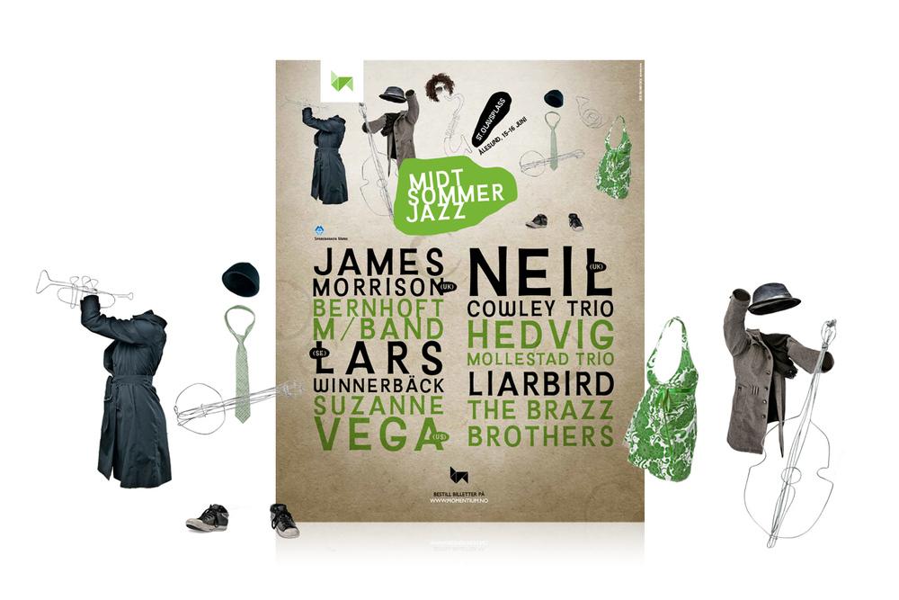 Midtsommerjazz 2012 poster
