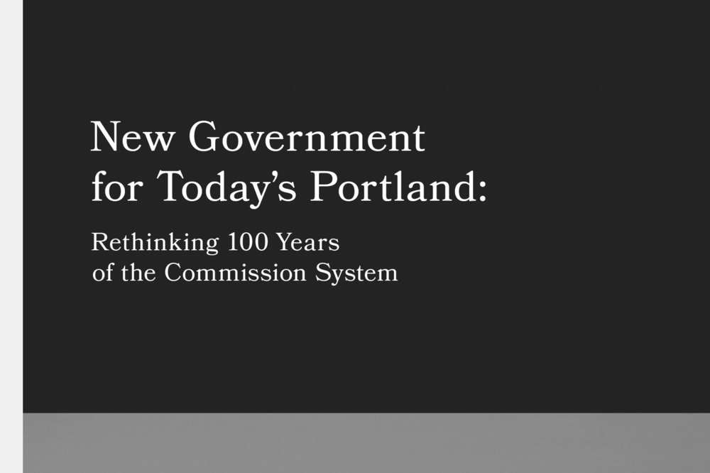 """City Club of Portland is a nonprofit, nonpartisan civic organization dedicated to community service, civic education, and leadership development."" City Club brought me in to design a research report and conceptualize information graphics about Portland's city government and if its commission system equitably represents Portlanders."