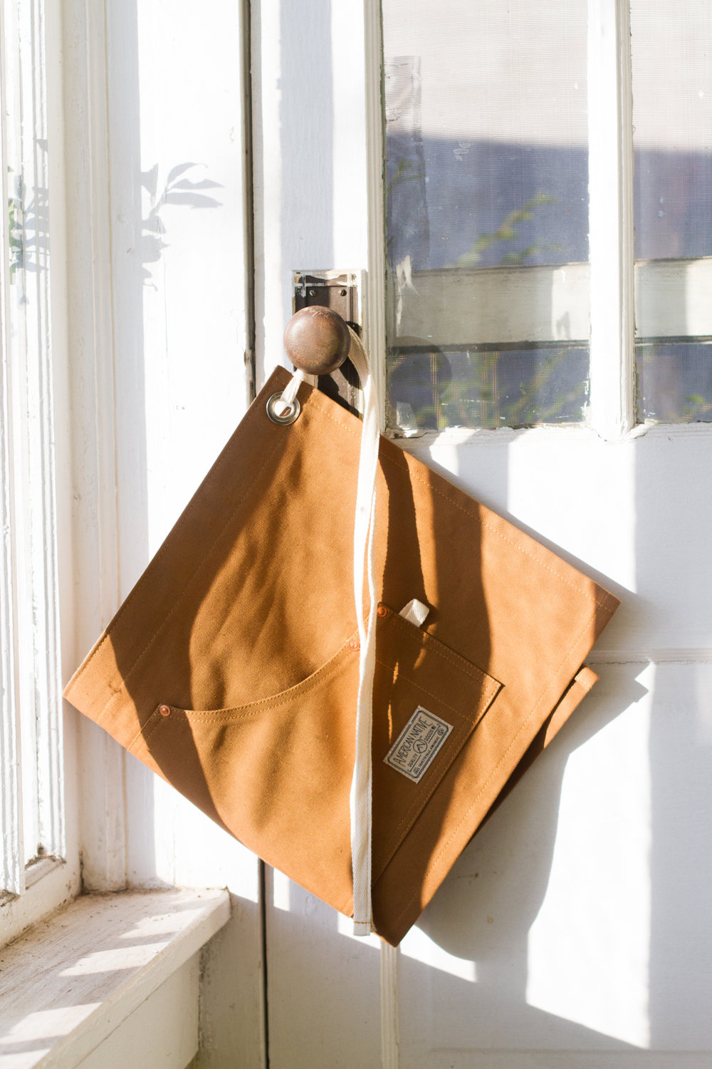 Duck Canvas Half Apron