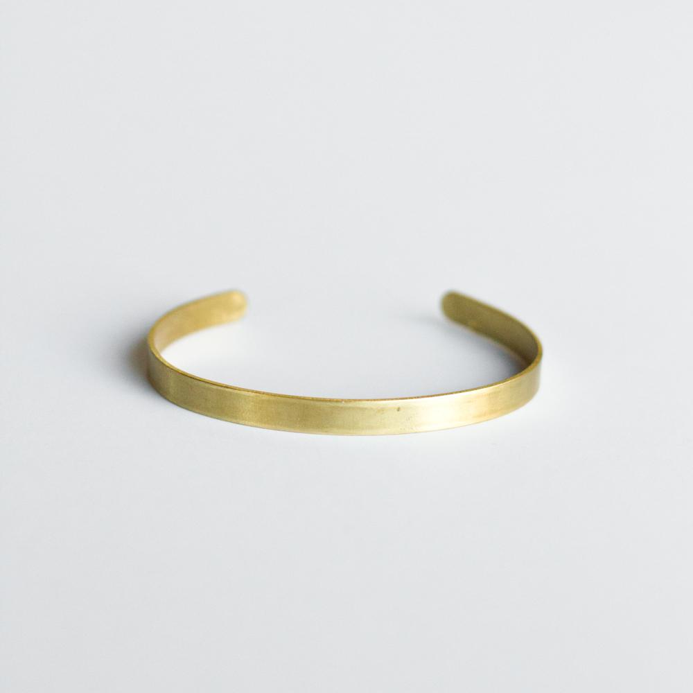 Classic Brass Cuff - $30.00