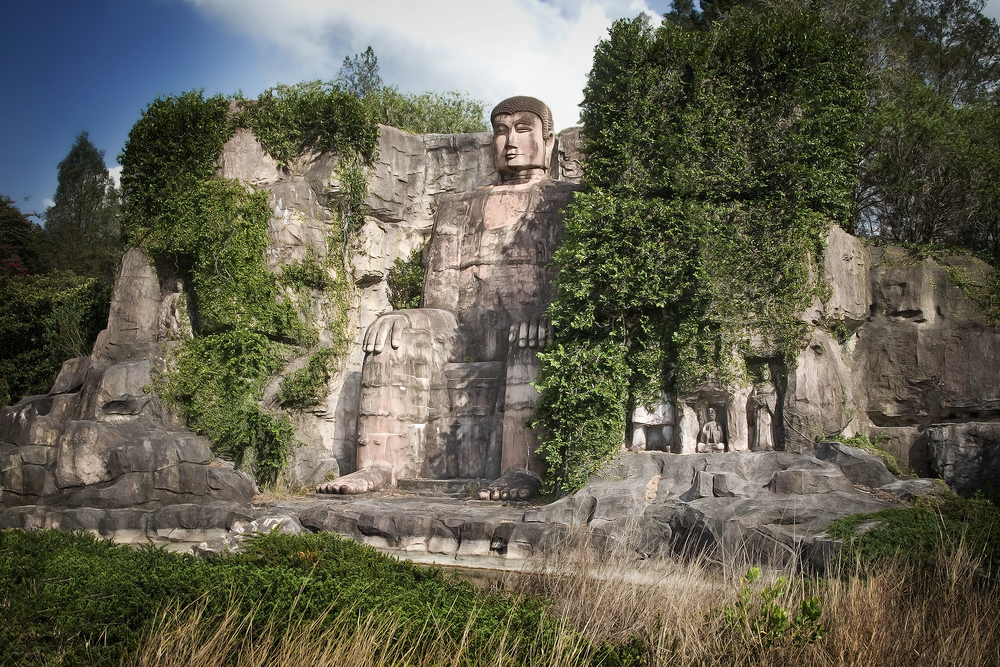 Leshan Giant Buddha at one tenth scale