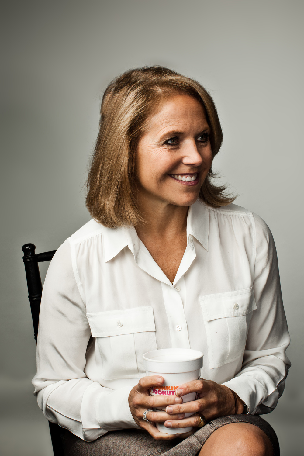 Journalist Katie Couric