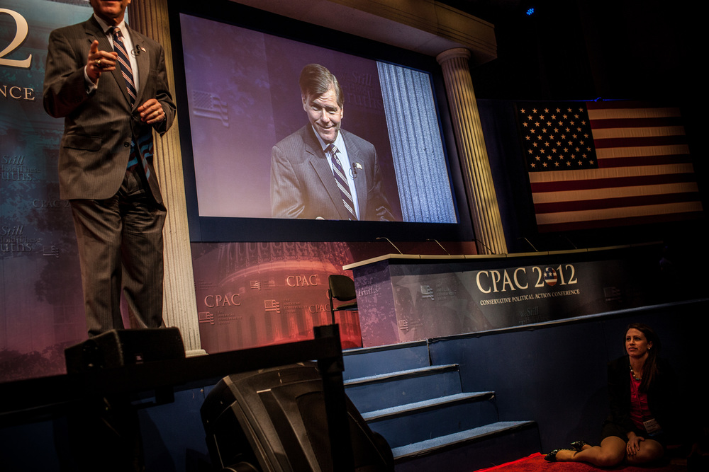 Scenes from the Conservative Political Action Conference in Washington, DC, 2009 - 2012.