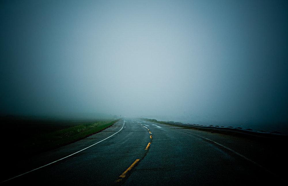 Prince Edward Island fog