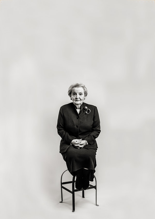Madeline Albright for The Atlantic