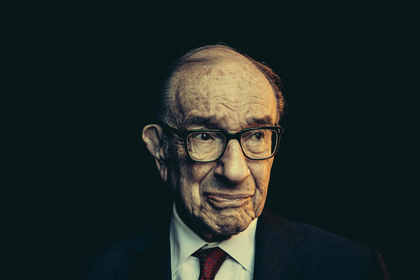 Alan Greenspan at the Washington Ideas Forum