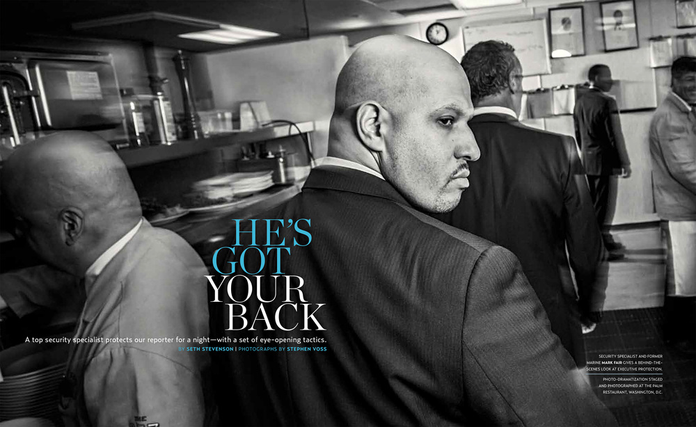 VIP Protection Specialist Mark Fair, for WSJ Money Magazine