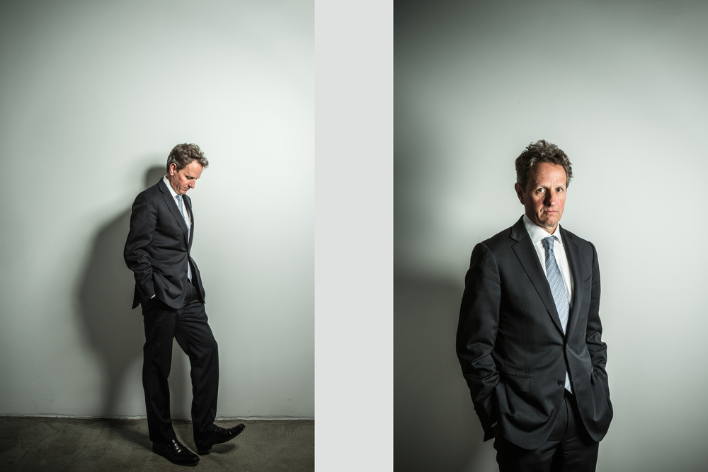 Timothy Geithner for WSJ.Money