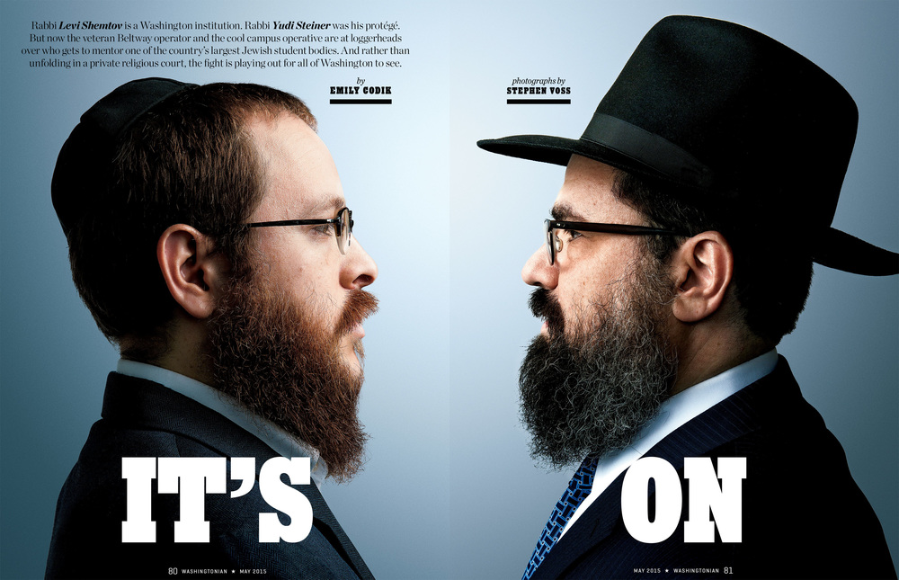 Rabbis Levi Shemtov and Yudi Steiner