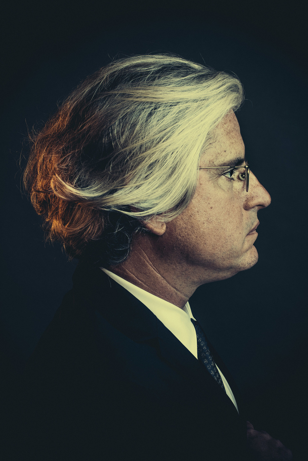 Democratic political operative David Brock for TIME Magazine