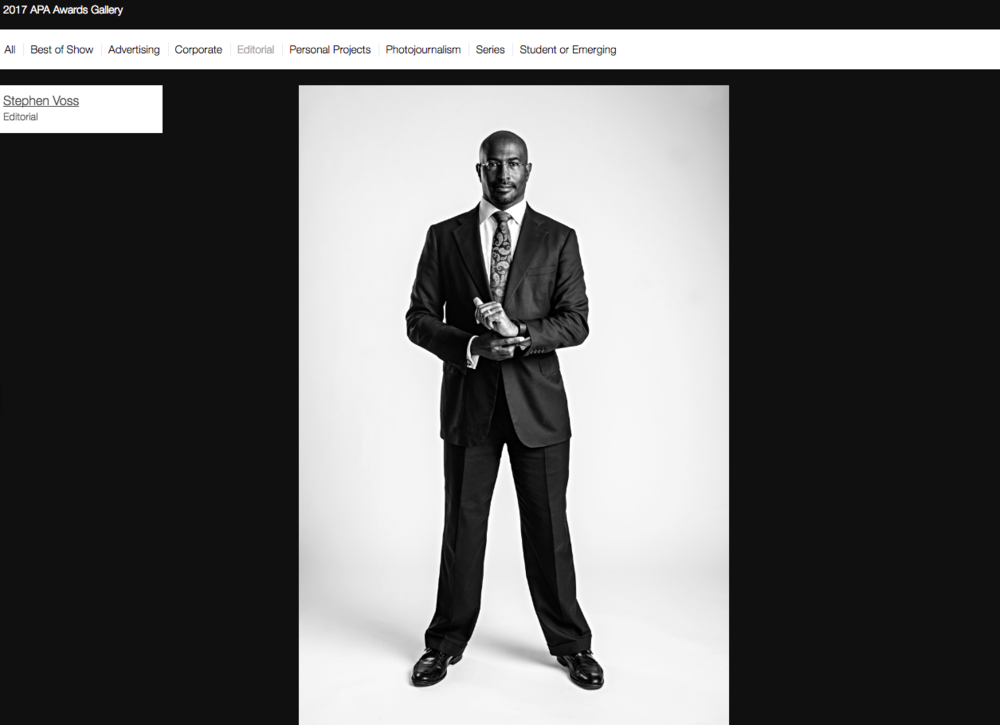 Political commentator Van Jones for The New York Times Magazine