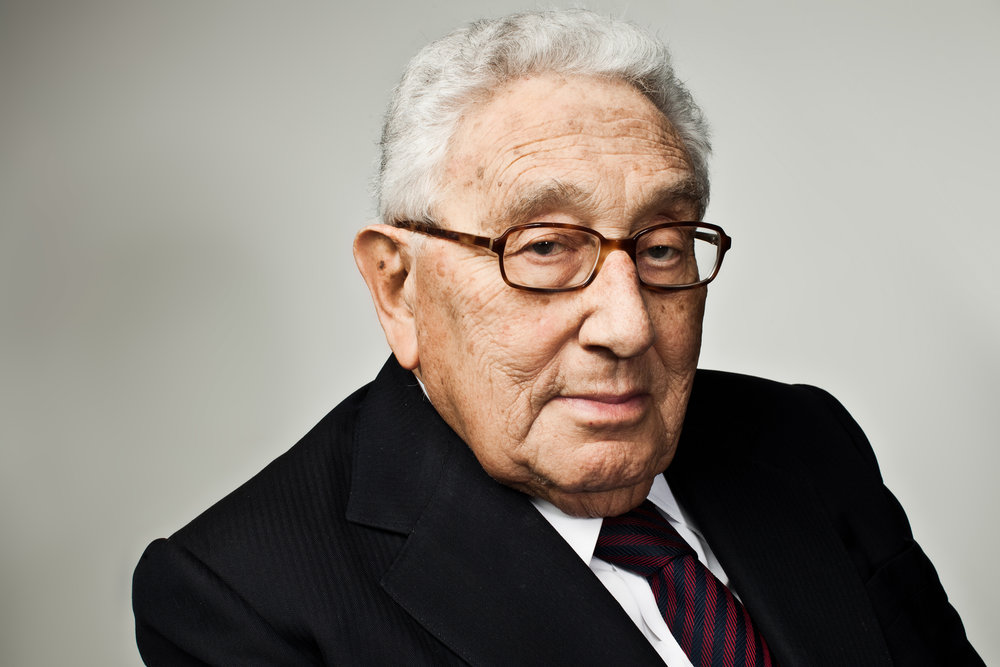 Former Secretary of State Henry Kissinger