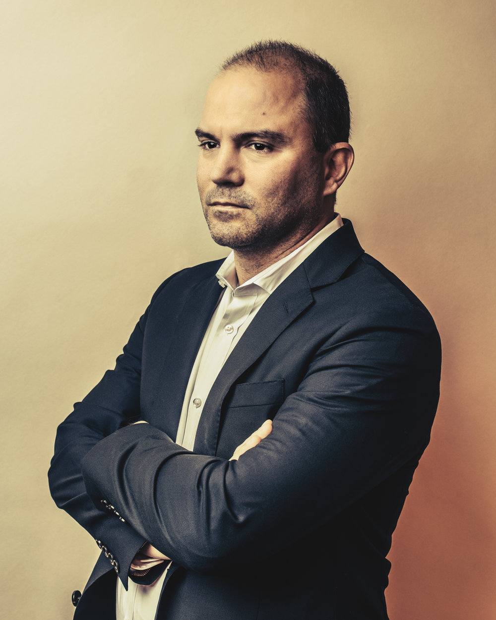 Obama White House Advisor Ben Rhodes for The Guardian Weekend Magazine