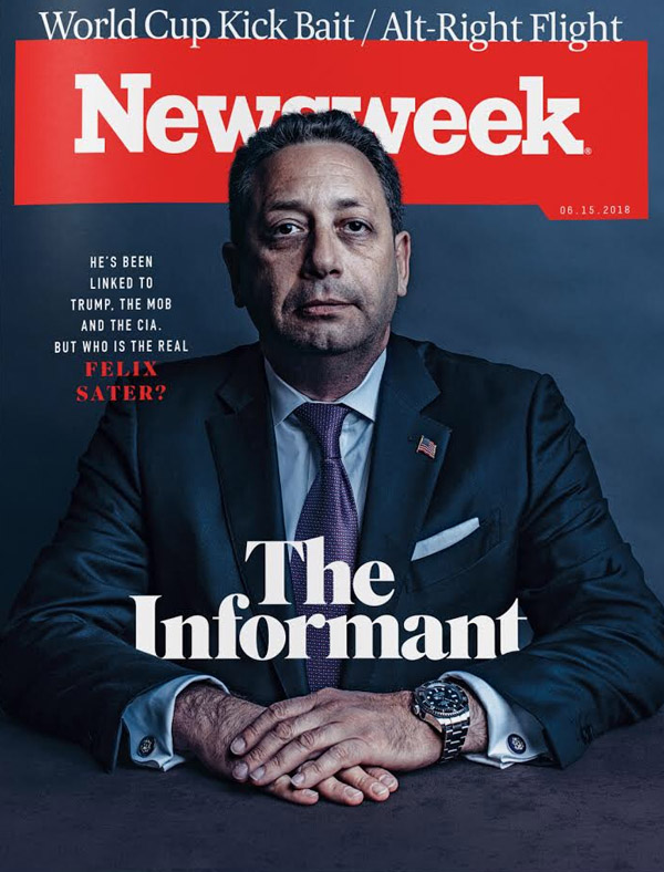 Trump associate Felix Sater for Newsweek