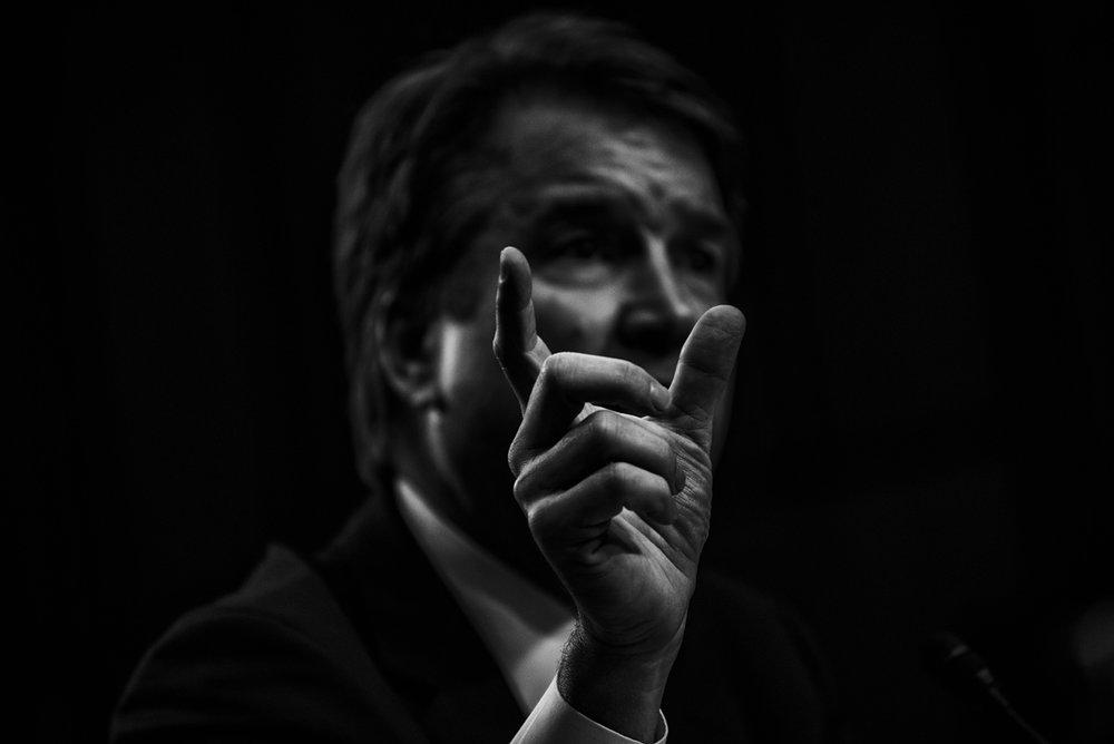 US Supreme Court associate justice nominee Brett Kavanaugh