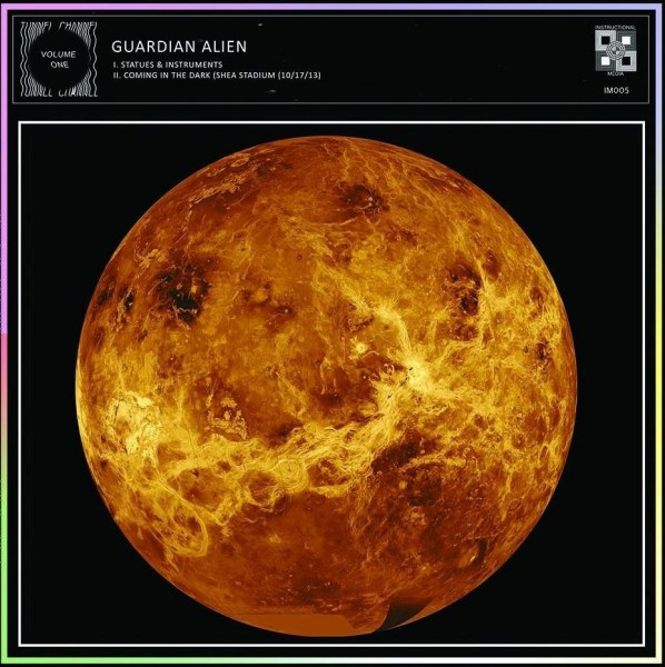 Guardian Alien | Split LP with The Cosmic Dead | Instructional Media