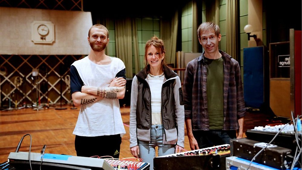 Kaitlyn Aurelia Smith and Greg Fox at BBC Maida Vale 2.jpg