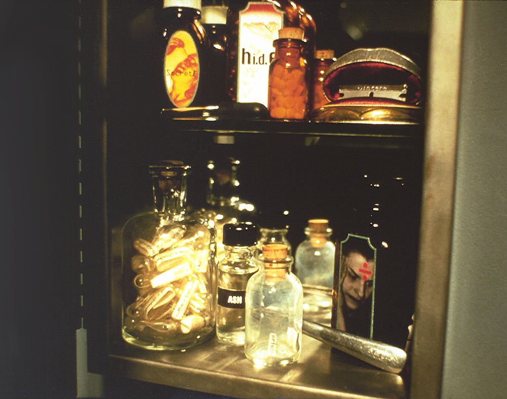 Medicine cabinet detail